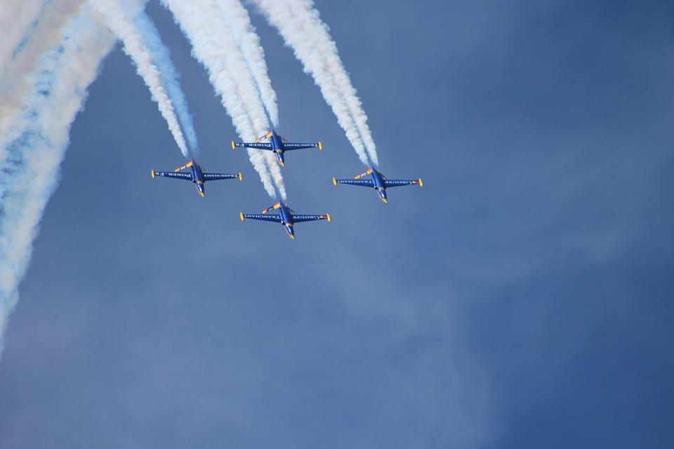 Airshow, Sky, Aviation, Airplane, Plane, Air, Speed