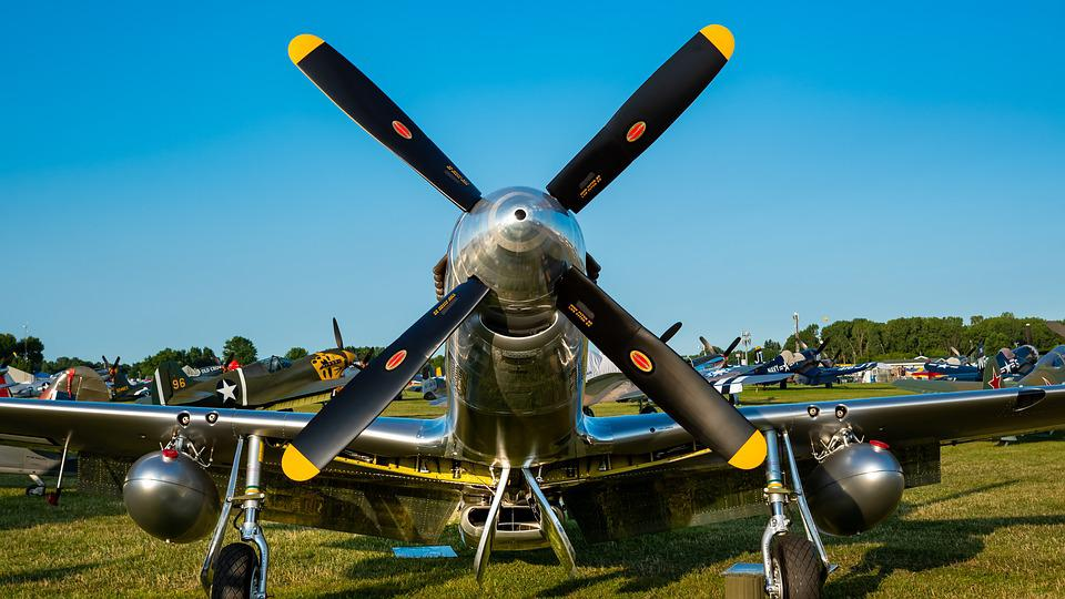 P51, Mustang, P-51, Aircraft, Airplane, Aviation
