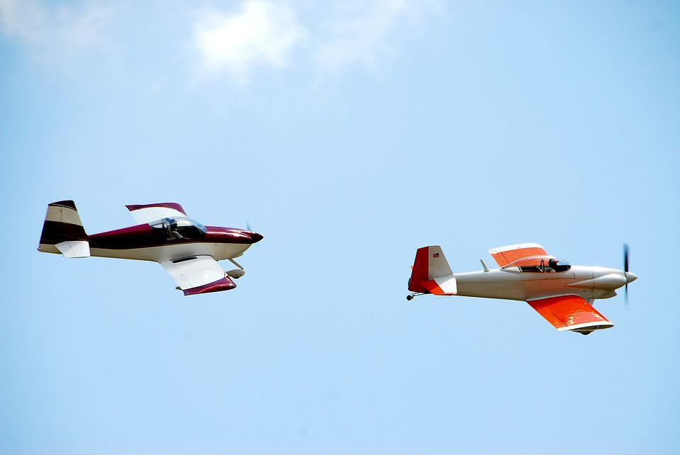 Stunt Planes, Airplane, Aircraft, Airshow, Flying