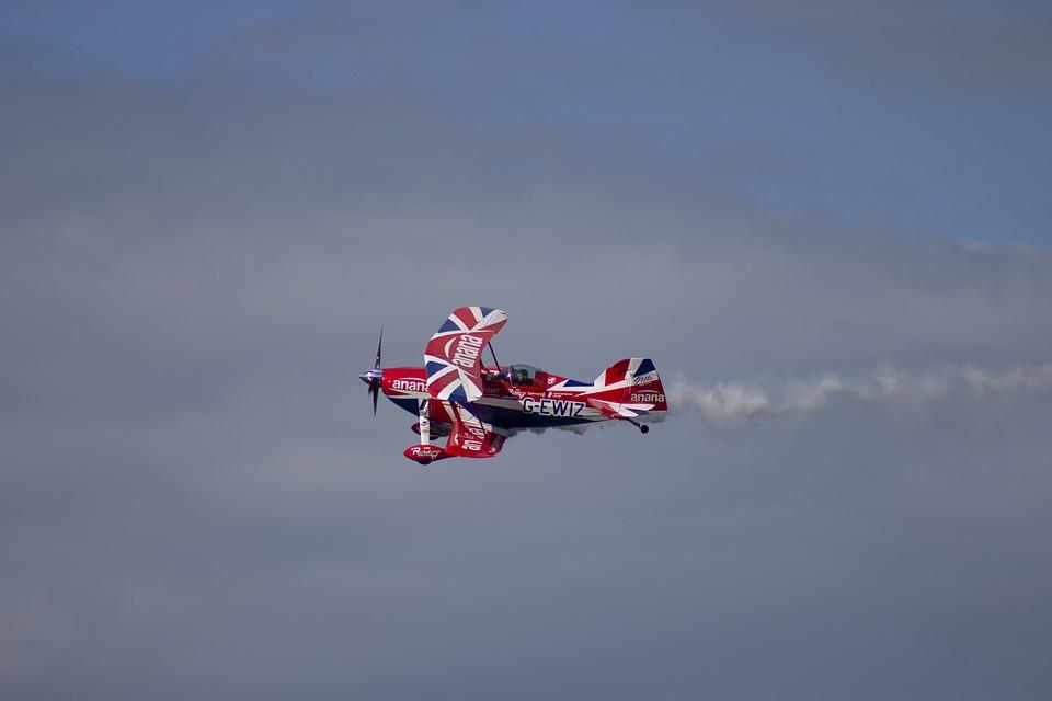 Airshow, Stunt, Airplane, Aviation, Aircraft, Aerobatic