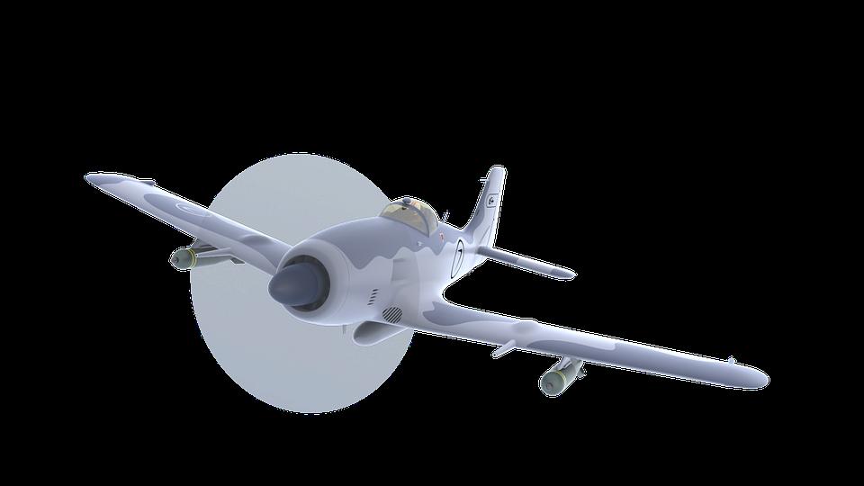 Airplane, Wing, Flight, Aircraft, Turbine, Propeller