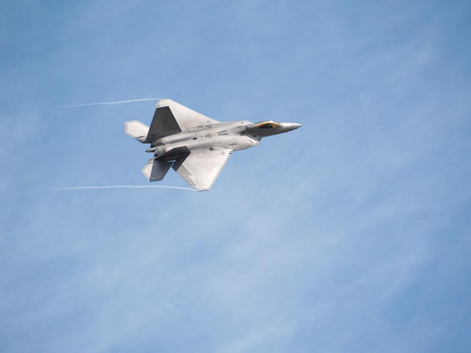 Fighter, Airplane, Raptor, Lockheed Martin, F-22 Raptor