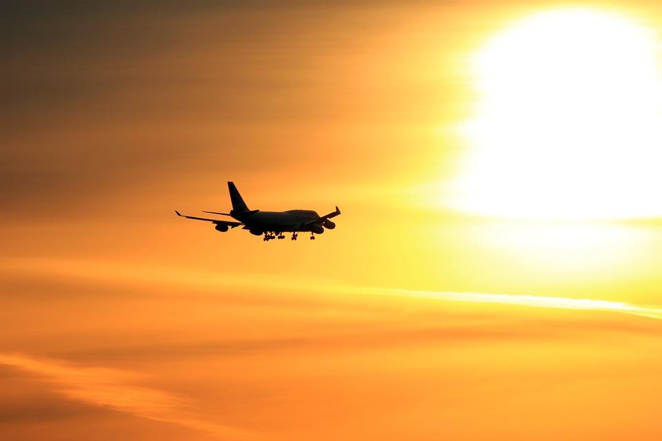 Plane, Sunset, Airplane, Travel, Sunrise, Aviation, Sun