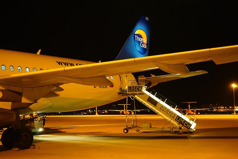 Aircraft, Airport, Condor, Passenger Aircraft