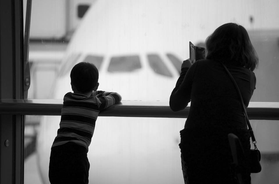 Airport, Airplane, Travel, Silhouette, Airline