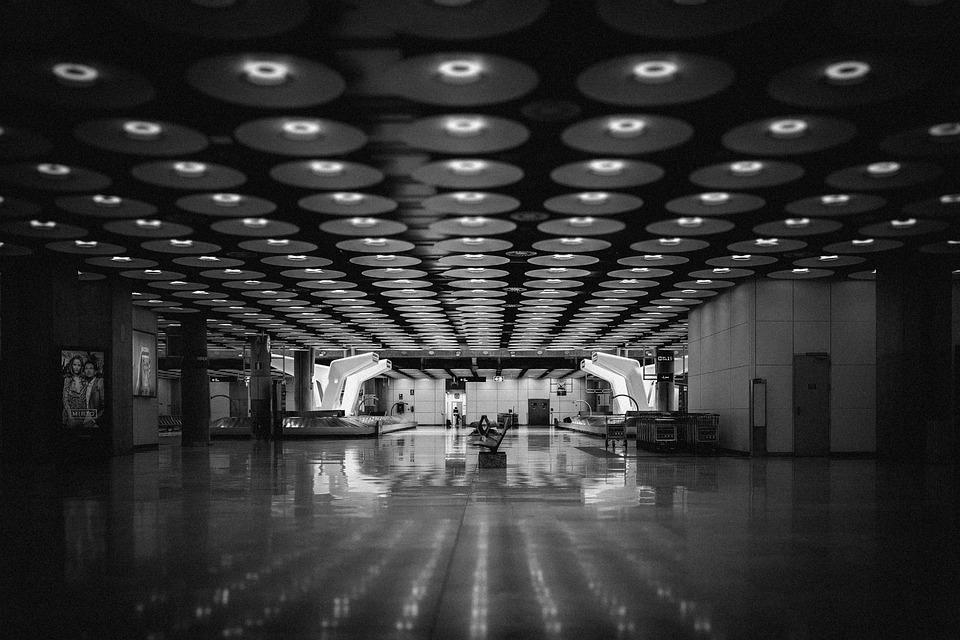 Airport, Tilt-shift, Travel, Departure, Flying, Modern