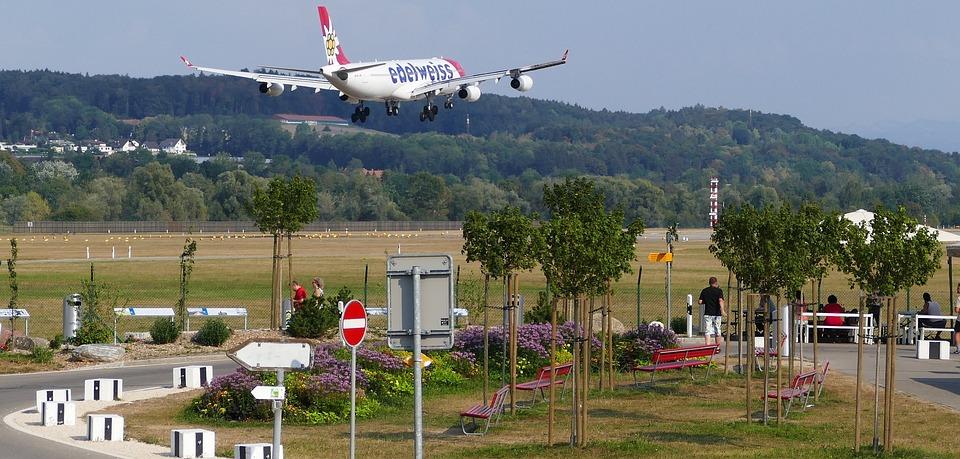 Traffic, Switzerland, Airport, Balls, Landing, Aircraft