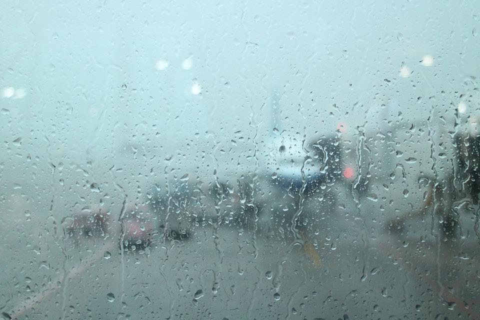 Airport, Plane, Glass, Non, Output