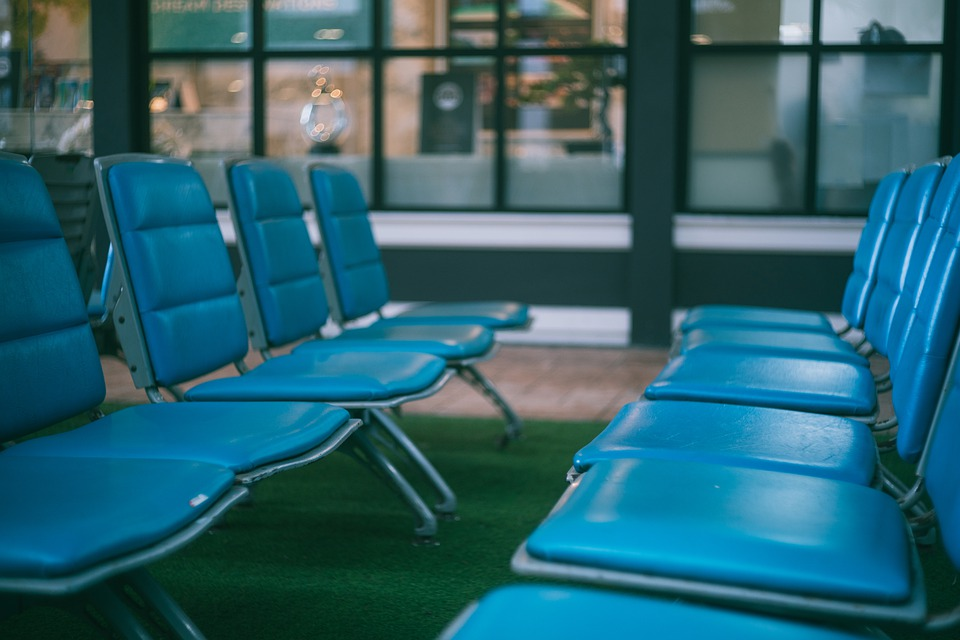 Chair, Seats, Airport