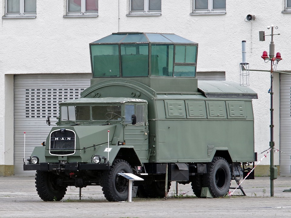 Vehicle, Military, Control Tower, Mobile, Airport
