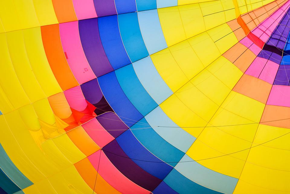 Abstract, Airship, Bright, Color, Colorful, Geometric