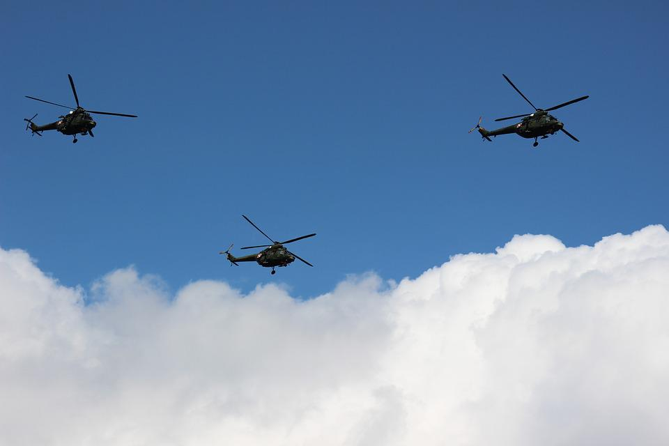 Airshow, The Army, Helicopter