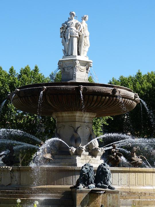 Aix, France, South Of France, Aix-en-provence, Provence