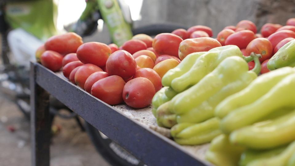 Chillies, Aji, Ajís, Tomato, Vegetables, Vegetable