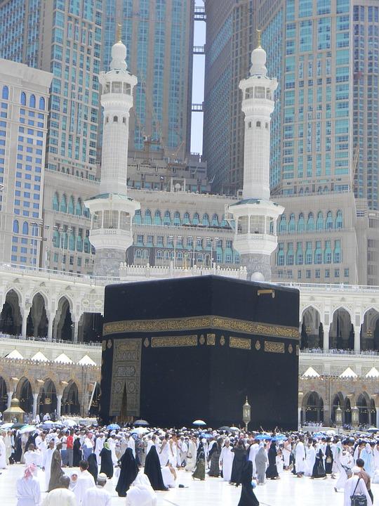 Free photo Al Abrar Mecca Minarets Hotel Building Saudi Arabia - Max