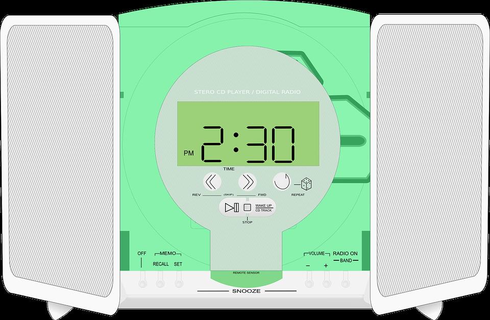 Stereo, Radio, Music, Alarm Clock