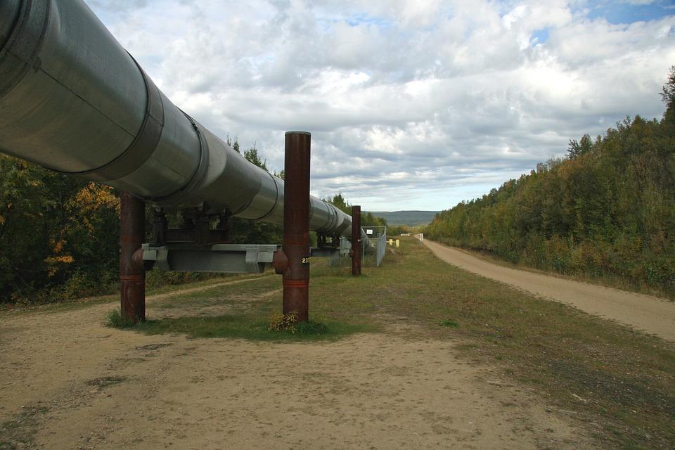 Alaska, Alaska Pipeline, Oil, Transportation, Gas Pipe