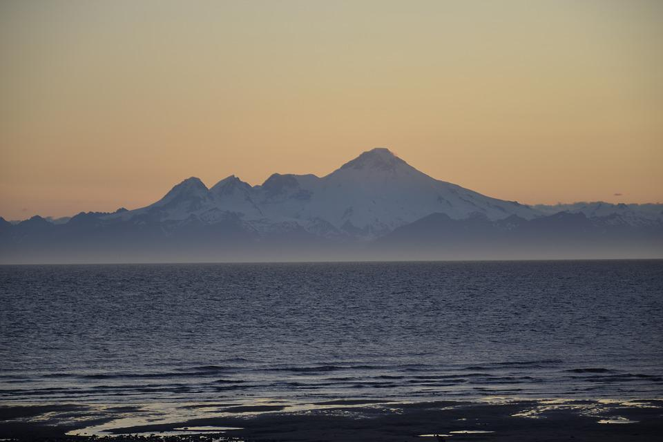 Alaska, Volcano, Mountain, Nature, Outdoor, Natural