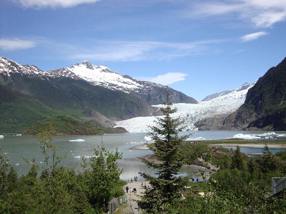 Alaska, Alaskan Glacier, Ice, Glacier, Arctic, Frozen