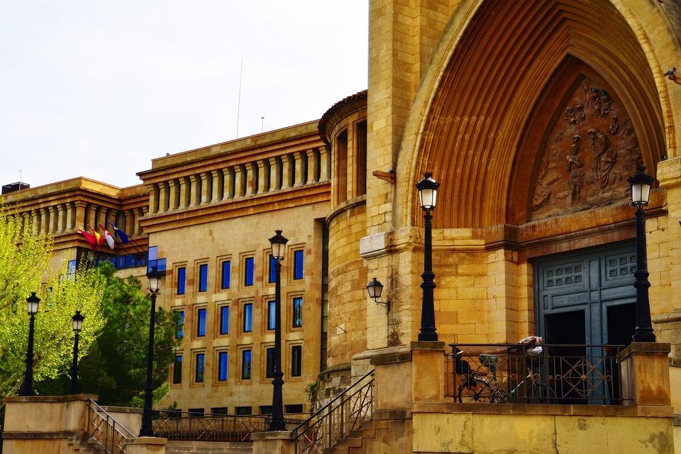 Cathedral, City Hall, Albacete, Plaza, Architecture