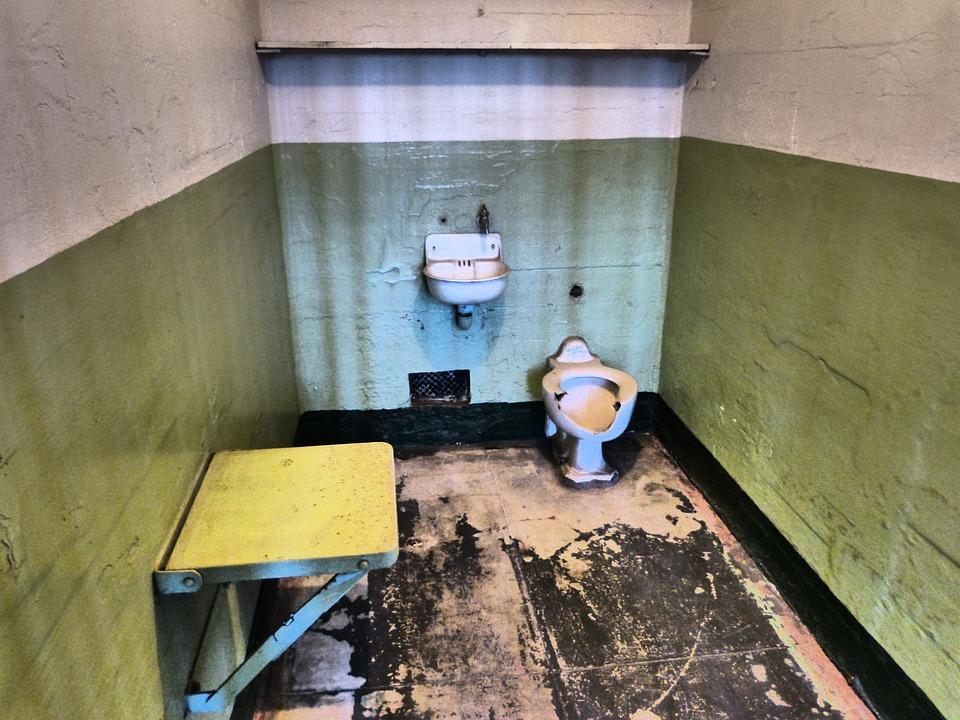 Alcatraz, Alcatraz Prison, California Prison, Jail Cell