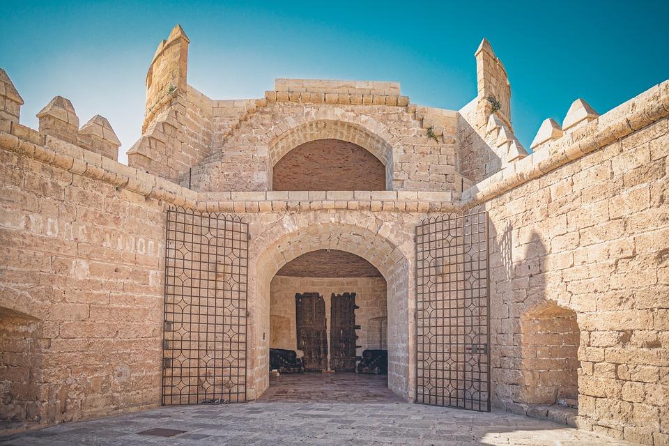 Alcazaba, Almeria, Tower, Fortress, Andalusia