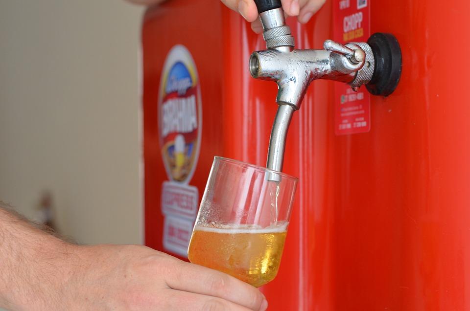 Beer, Glass, Chopper, Alcohol, Beverage, Cold, Drink
