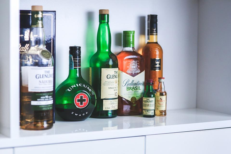 Bottles, Bottle, Whiskey, Alcohol, Alcoholism, Party