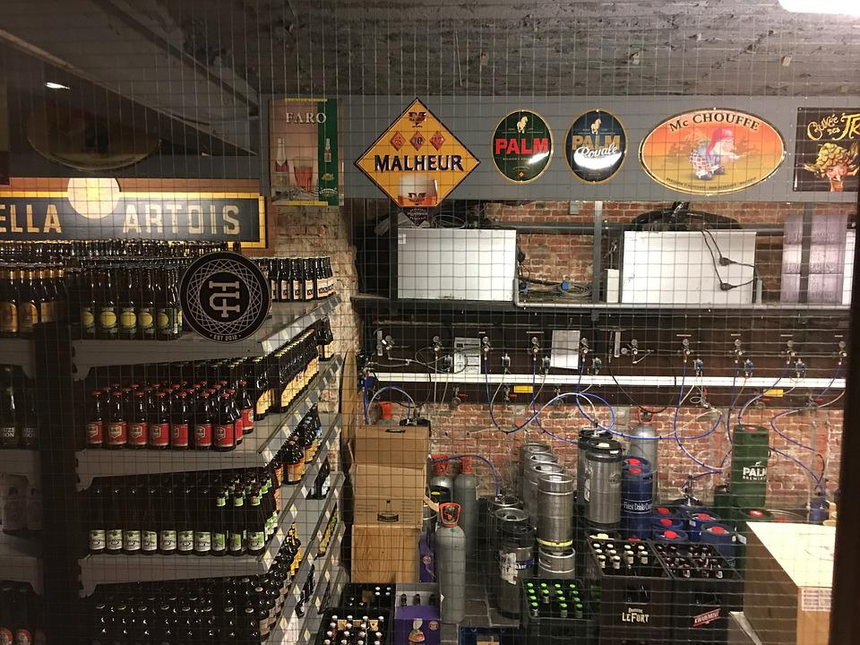 Beer, Cellar, Alcohol, Drink, Beverage, Pub, Storage