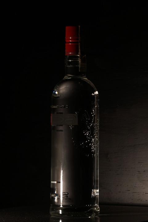 Vodka, Alcohol, Drink, Alcoholic, Bottle, Spirit