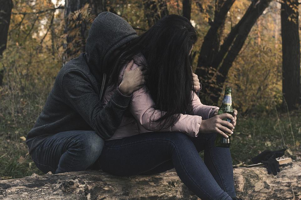 Female Alcoholism, Woman, Girl, Alcoholic, Alcoholism