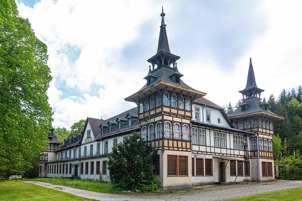 Alexisbad, Kurhaus, Ruin, Lost Place, Architecture