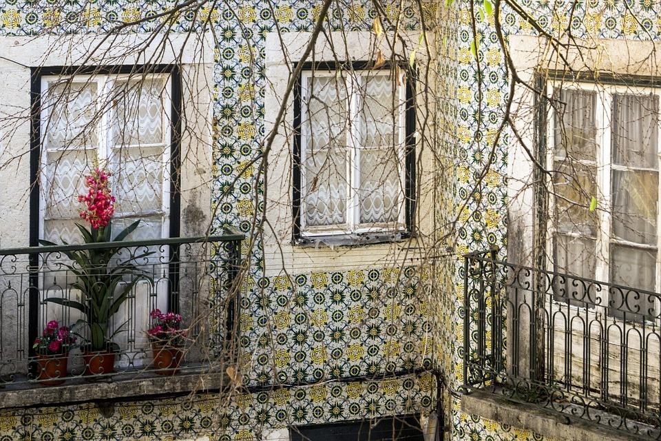 Lisbon, Portugal, Lisboa, Alfama, Azulejos, Tile