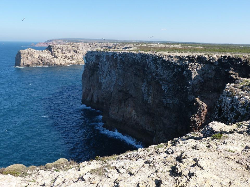 Algarve, Sea, Wave, Rock, Coast, Water, Booked