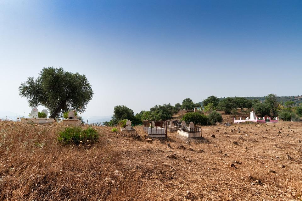 Cemetery, Bejaia, Algeria, Islam, Muslim, Islamic