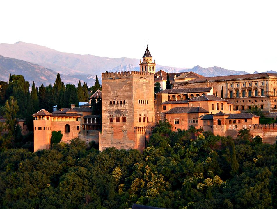 free photo alhambra architecture spain granada andalusia max pixel