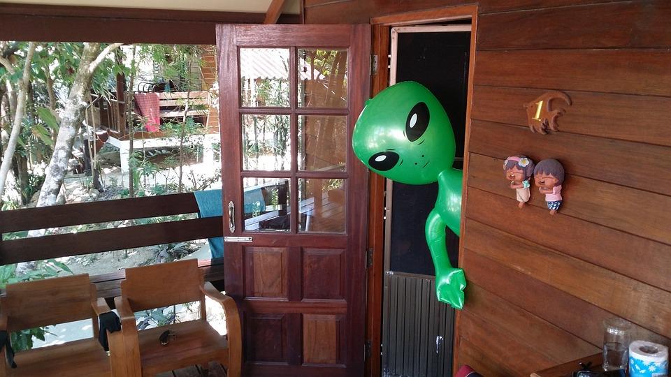 Aliens, Alien, Alie, Green, Green Male