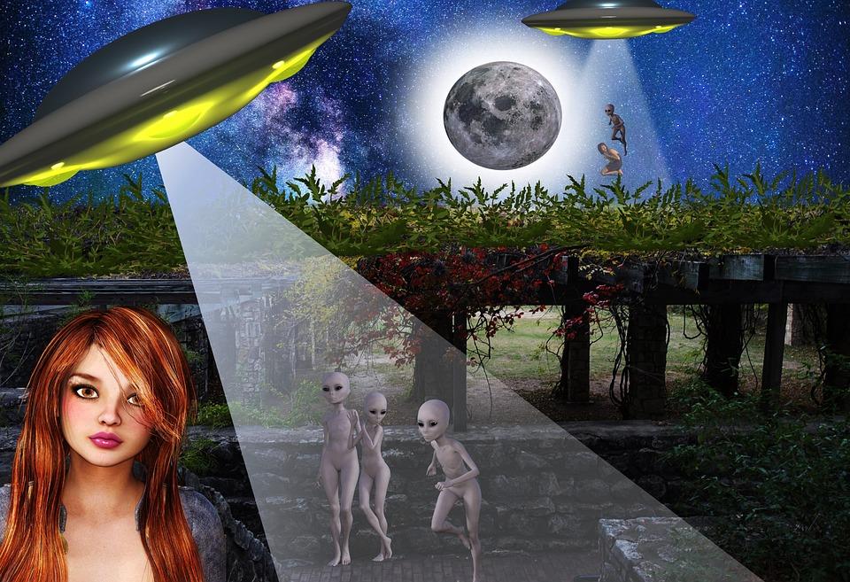 Humor, Alien Abductions, Science Fiction, Fantasy