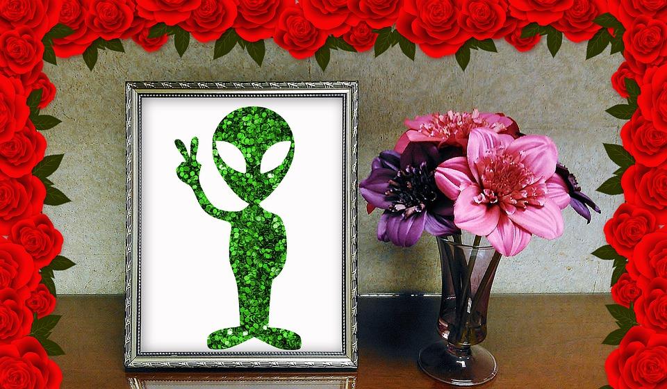 Alien, Alien Illustration, Alien Drawing, Alien Picture