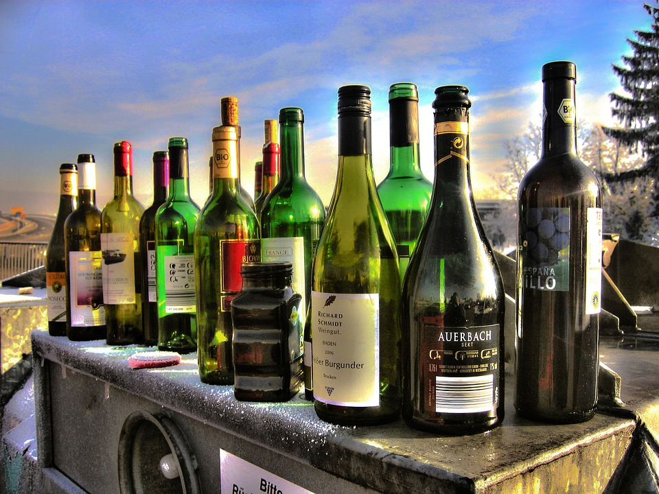 Alkolismus, Bottles, Glass, Container, Glass Container