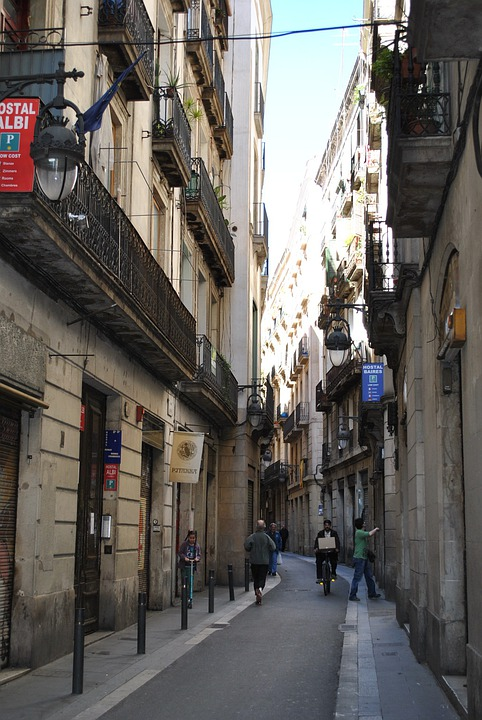 Alley, Homes, Barcelona