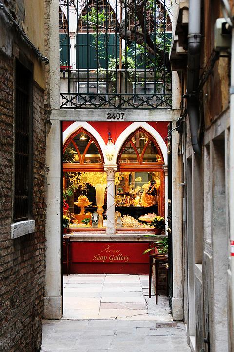 Venice, Alley, Business
