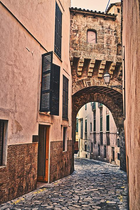 Alley, Old, Eng, Historic Center, Architecture