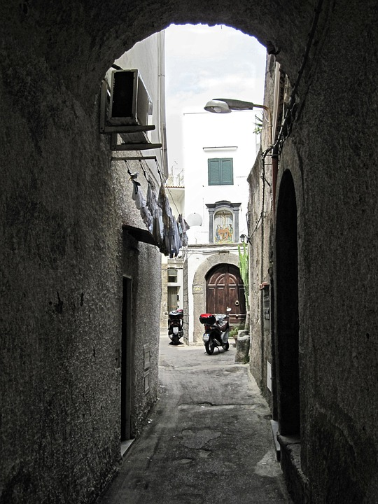 Ischia, Old Town, Alley, Italy
