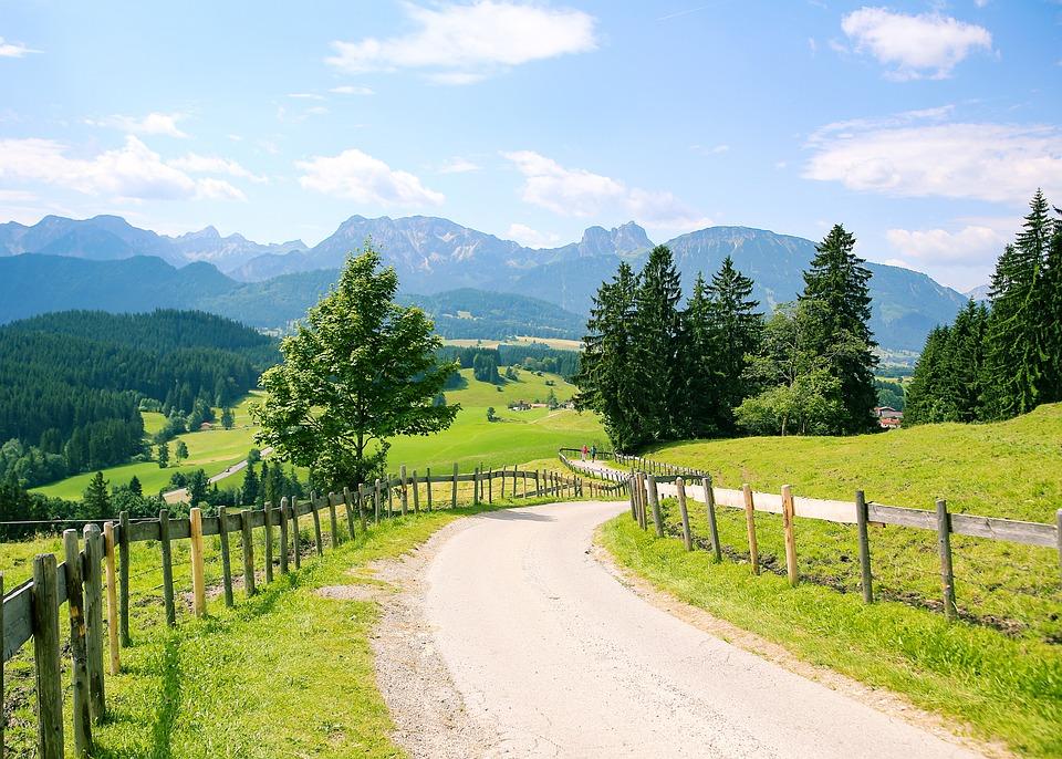Allgäu, Eisenberg, Bavaria, Mountains, Mountain Range