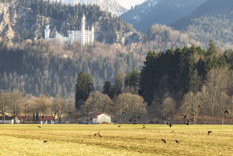 Castle, Kristin, Schwangau, Allgäu, Attraction, Bavaria