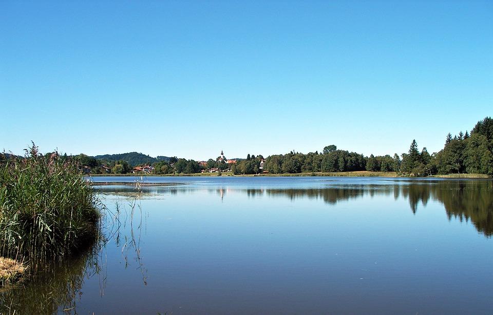 Allgäu, Foothills Of The, Lake, Idyll, Water