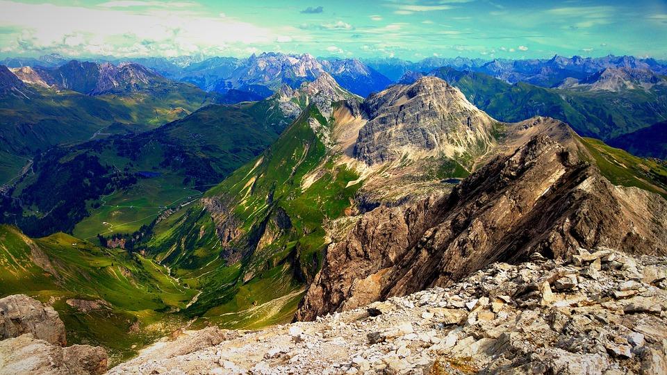 Lech, Warth, Bregenzerwald, Allgäu, Alpine, Lech Valley