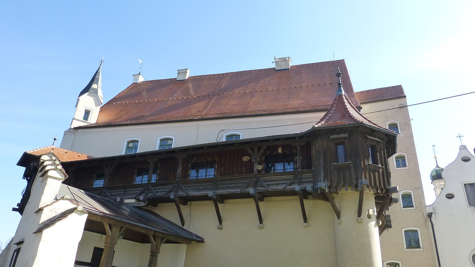Allgäu, Mindelheim, Mindelburg, Castle