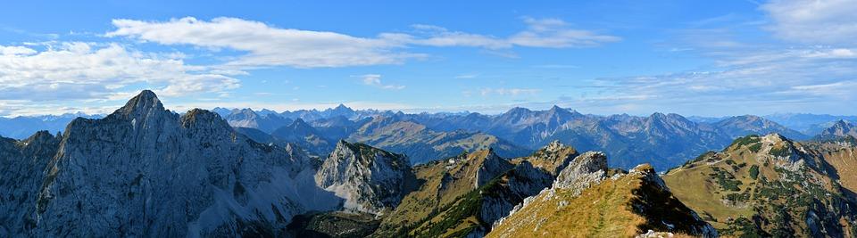 Alpine, Austria, Landscape, Tannheim, Allgäu, Nature